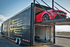 Exotic car shipping ferrari