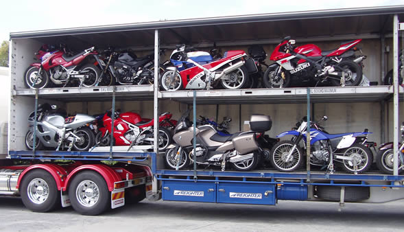 Motorcycles transport